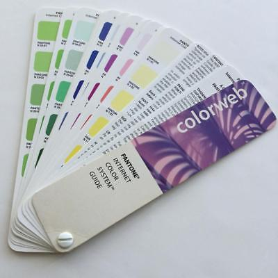 Pantone PMS Colorweb Web Internet Color System Guide Book 1996
