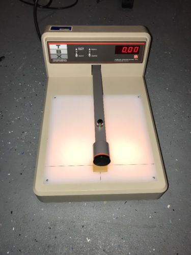 TBX TRANSMISSION DENSITOMETER, Tobias Associates, AS IS