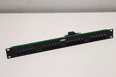 AMP Netconnect Patch Panel Assembly Communication Circuit Accessory 556189-1