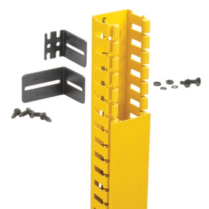 Panduit FiberRunner FRHD2KTYL 2x2 Hinged Duct Kit NEW IN BOX
