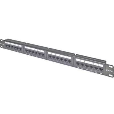 24PORT CAT6 MODULAR PATCH PANEL