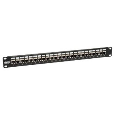 NEW Tripp Lite 24port 1u Cat6/cat5 Patch Panel N254-024-sh