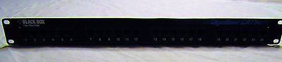 Black Box GigaBase CAT5e Patch Panel 12-Port