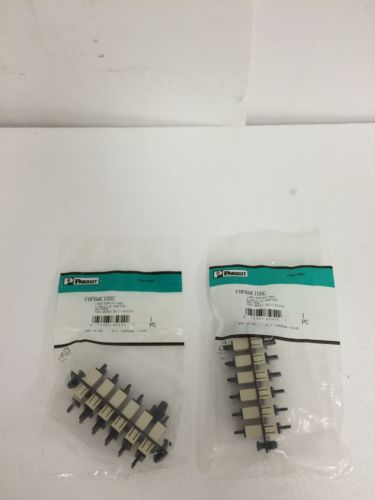 One Lot Of 2 Brand New PANDUIT DPFP1 Fiber Adapte Panel FREE SHIPPING