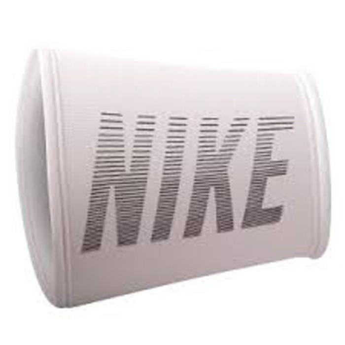 Nike Performance Graphic Doublewide Wristbands (White/Black, One Size Fits Most)