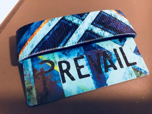 Prevail Zox Strap Reversible Wristband -  NEW - It Doesnt Take A Majority Quote