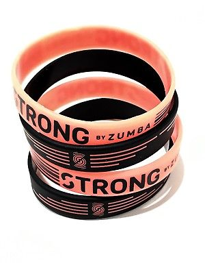 Strong by Zumba Rubber Bracelets 8pk A0A00918