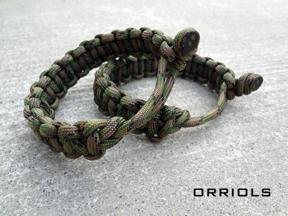 Venom Tom Hardy Eddie Brock Paracord Survival Bracelet