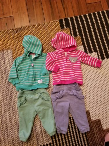baby girls clothes lot 12 months