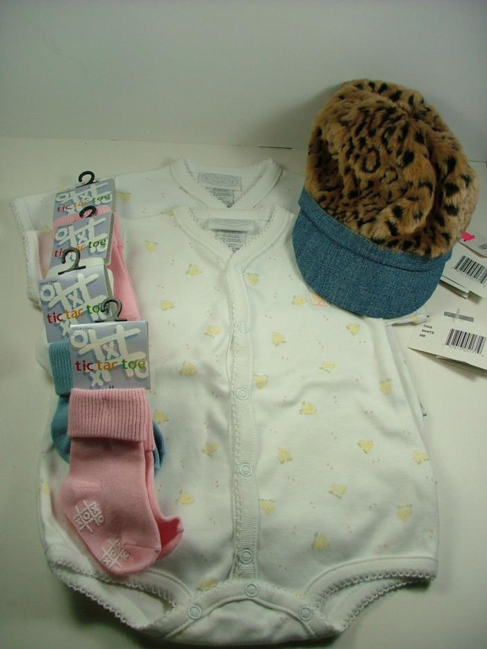Lot of NWT Baby Clothes & Accessories