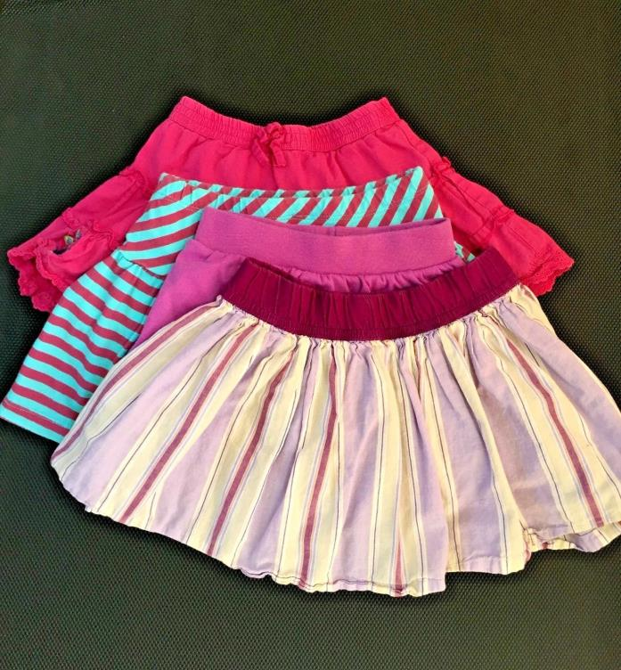 Mixed Lot Toddler Girls Skirts Skorts Old Navy CP Summer 24 Month 2T