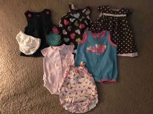 3 Month Baby Girl Dress Lot