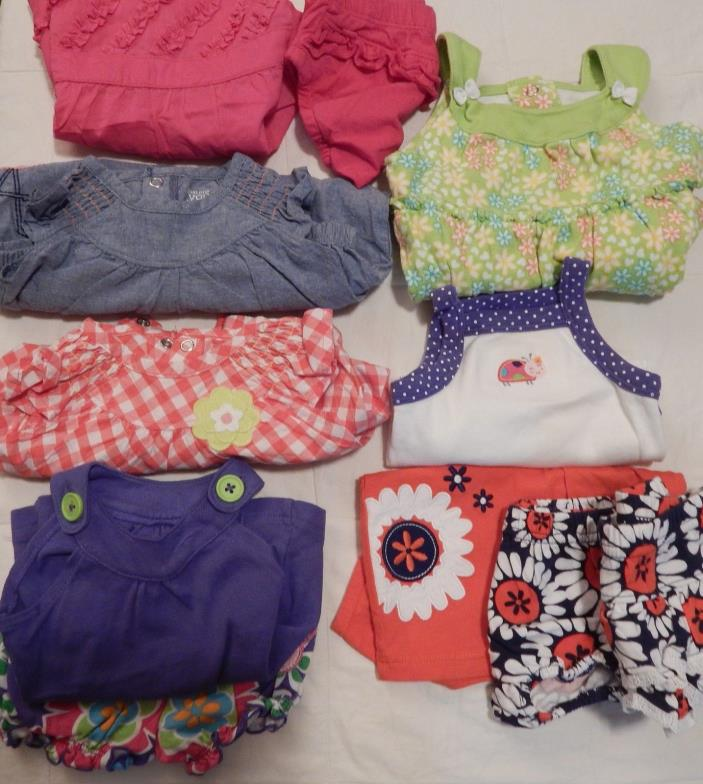 Lot Of Baby Girl Clothes Size 3 Month, Spring & Summer   Excellent Condition!!