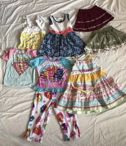 Girls 2T random clothing lot Gymboree Carter's old navy Oshkosh Care Bears