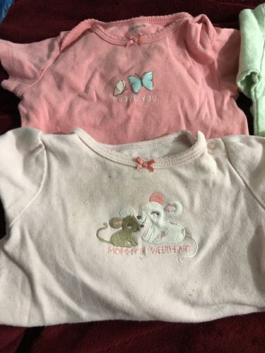 6-9 month baby girl clothes lot