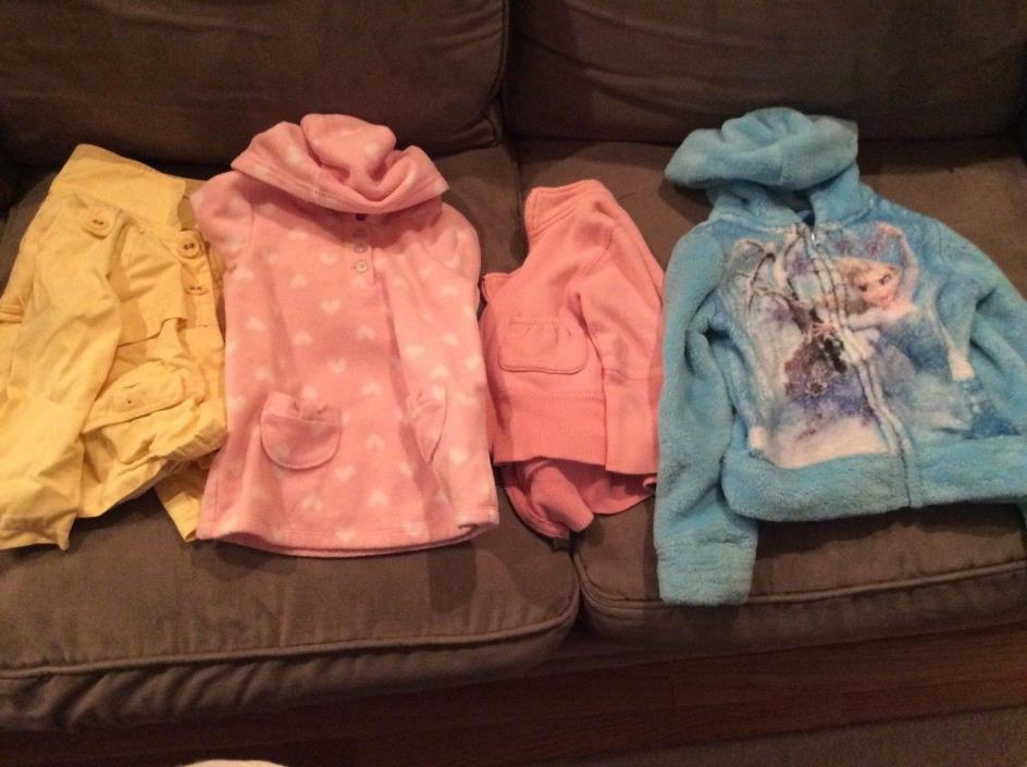HUGE LOT of Toddler Girls clothes 3t some new with tags