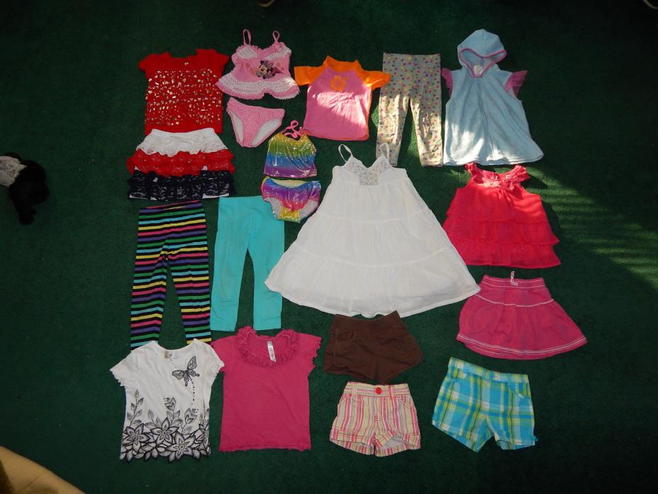 Carter's Old Navy Disney girl's clothes lot size 3 t