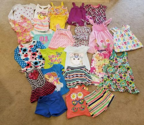 Girls 3T lot 24 piece. Okie Dokie, Place and more!
