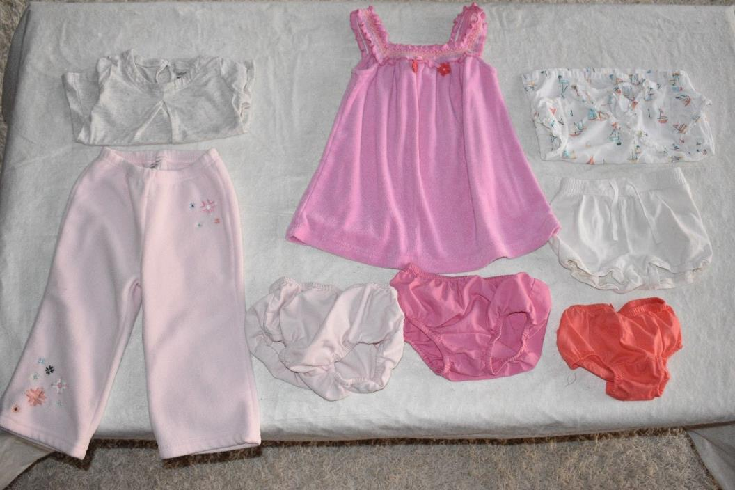 8 Piece Lot Girls Clothes Size 18-24 Months Gymboree Janie And Jack Baby Gap