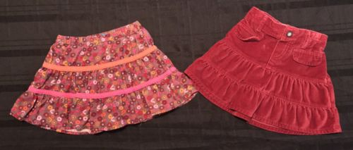Lot Of 2 The Children's Place Old Navy Skirts 12-18 Months