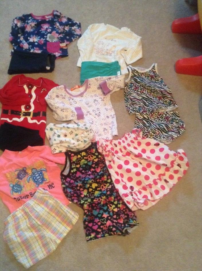 Very nice new&used girl fall/winter clothes lot size:2T