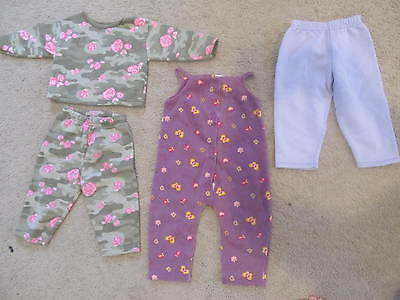 LOT 41 - 3 GIRLS ITEMS - OUTFITS AND PANTS