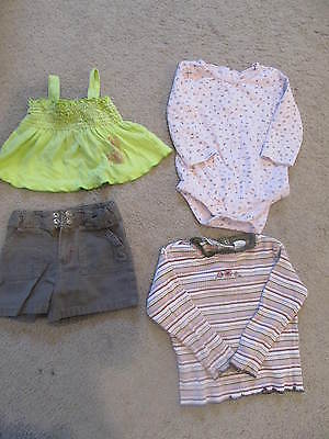 LOT 39 - 4 GIRLS TOPS 3T, 18 MTHS, 4T