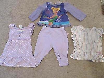 LOT 40 - 4 GIRLS ITEMS VARIOUS TOP, DRESS, PANTS, SHIRT