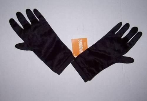 NWT GYMBOREE BLACK COSTUME GLOVES 3 4 GORILLA HALLOWEEN ACCESSORY CHILD