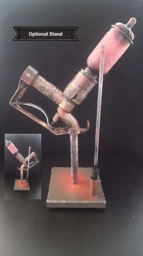 Bioshock Little Sister Needle Cosplay Prop with Stand