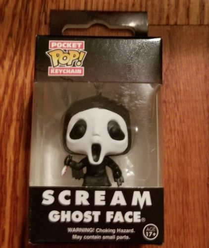 Scream Ghost Face Keychain