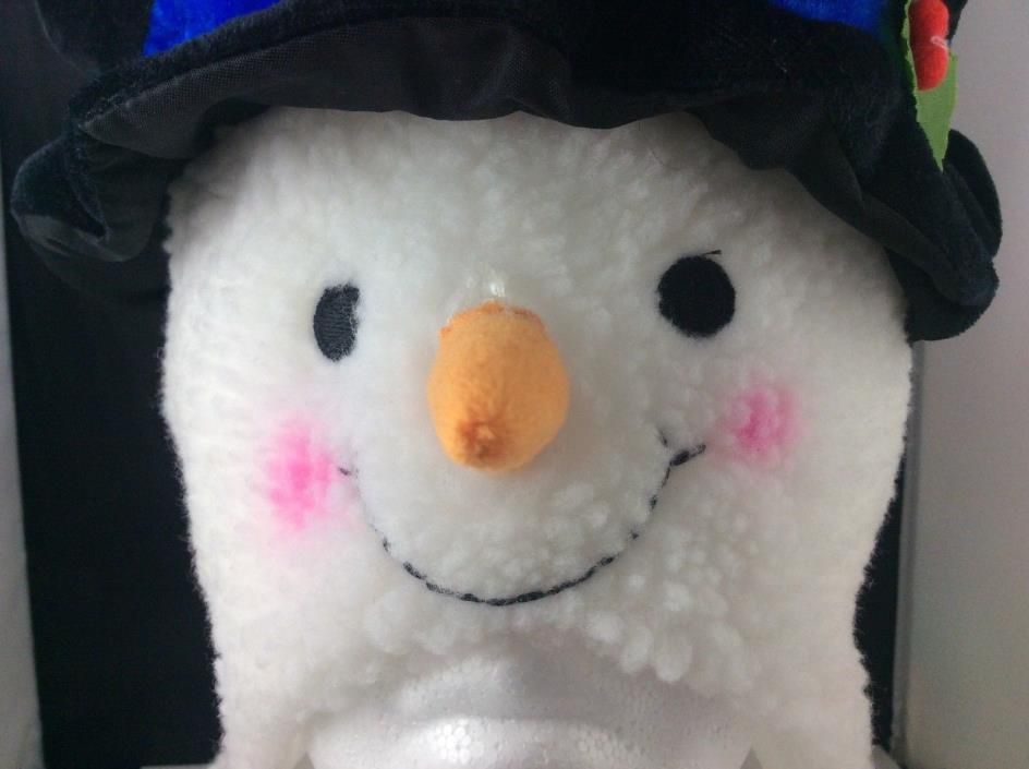 Christmas Winter Snowman Character Hat Adult Size