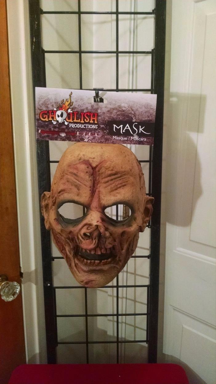 Undead Evil Scary Ghoul Monster Horror Latex Halloween Mask Child Junior NEW