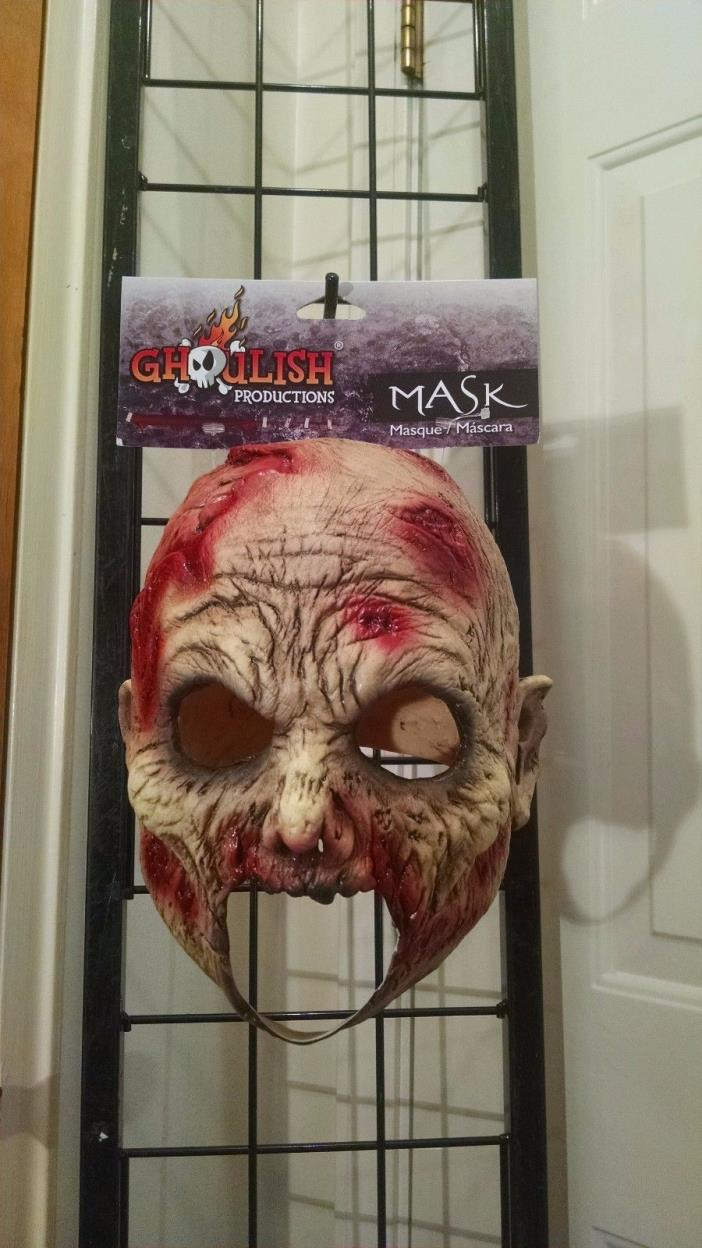 Evil Undead Scary Ghoul Monster Horror Latex Halloween Mask Child Junior NEW
