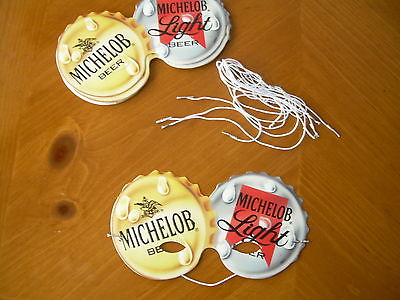 MICHELOB / MICHELOB LIGHT( Lot of 10 ) MARDI GRAS MASK PARTY Fun for Wait staff
