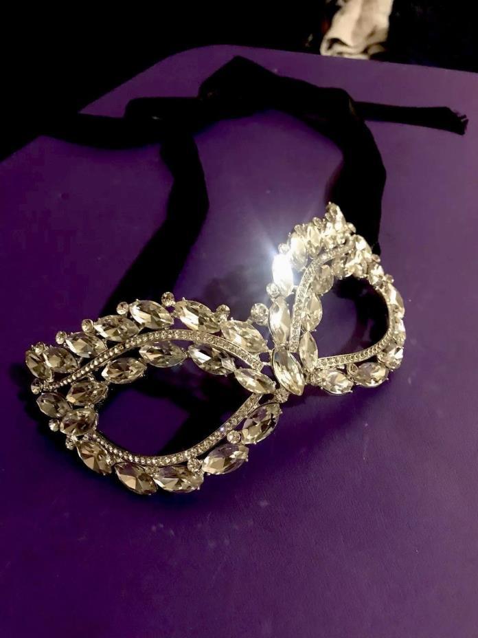 Full Crystal Luxury Masquerade Mask