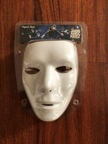 America's Best Dance Crew MTV Jabbawockeez Dance Blank Male Mask 100% Authentic