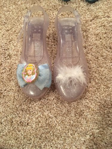 Brand New Cinderella Dress Up Play Heels Shoes Toddler