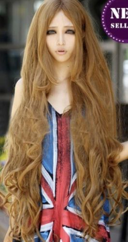super long wavy wig