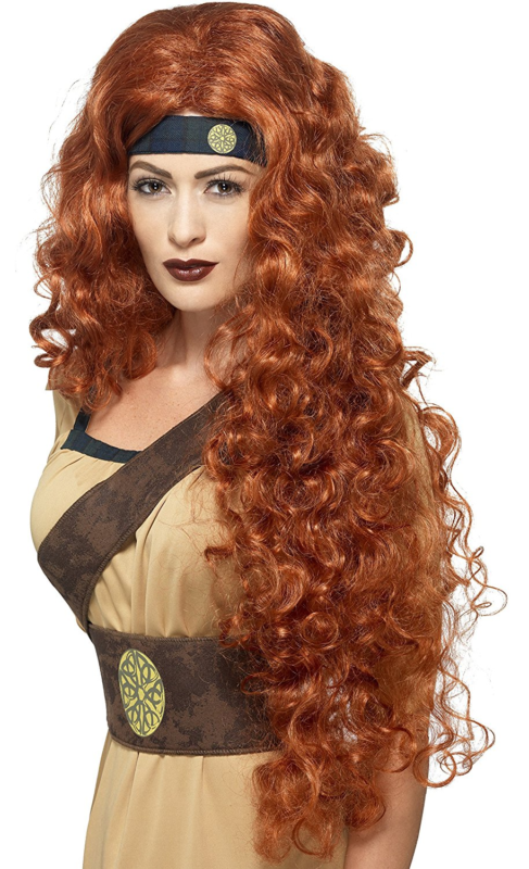 Smiffy's Women's Medieval Warrior Queen Wig