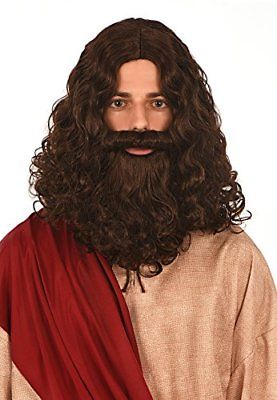 Kangaroo Costumes - Jesus Wig and Beard