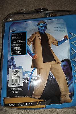 Avatar Jake Sully Costume Boys Large 8-10