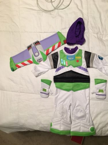 Disney Store Buzz Light year costume Size 12-18M Toy Story