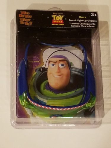Disney Toy Story Buzz Lightyear Cosmic Light - Up  Goggles NEW in box. Costume