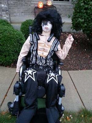 KISS Starchild COSTUME Child Kids size PAUL STANLEY Size Large Halloween