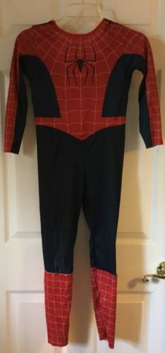 Kids boy's SPIDER-MAN full suit costume sz small Halloween dress up