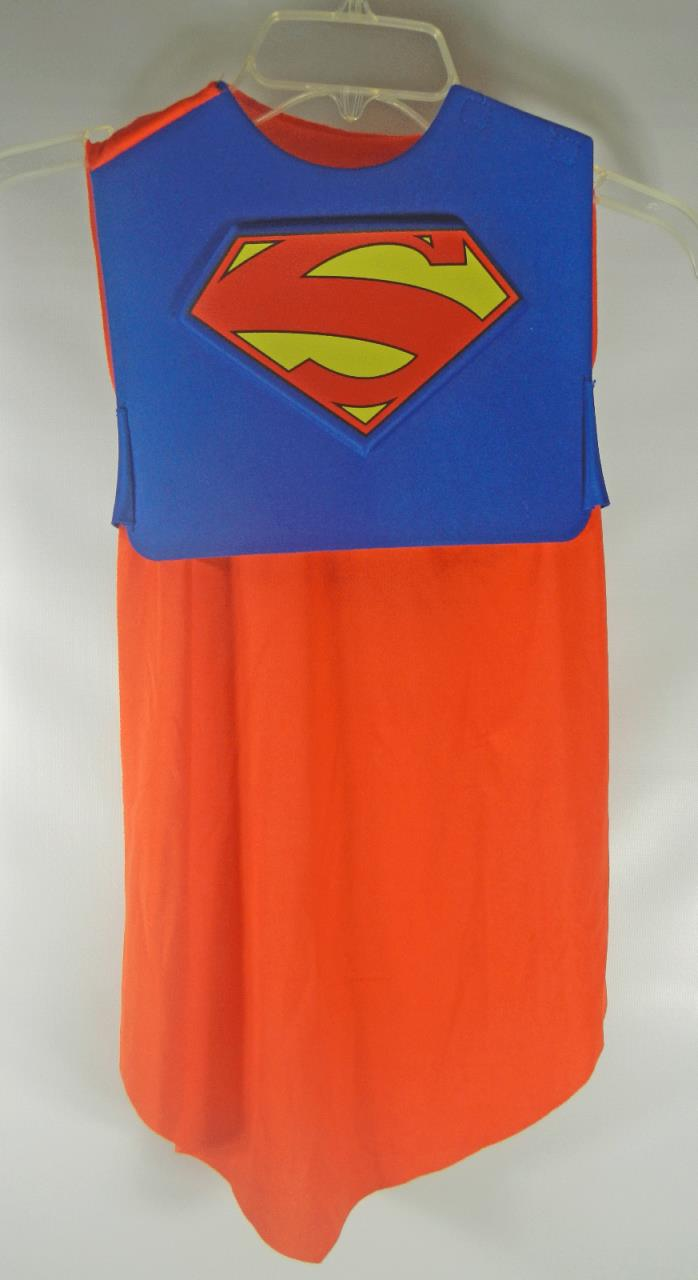 Halloween Boy's Superman Cape, Breastplate and Sleeves Size 4-6