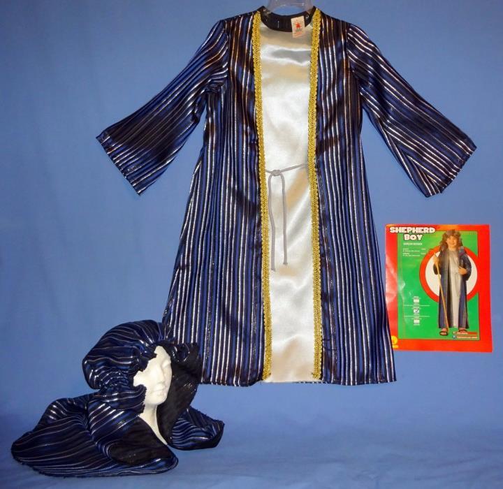 Shepherd Costume child 8-10-Robe Headpiece Wise Man-Nativity;Church School Play