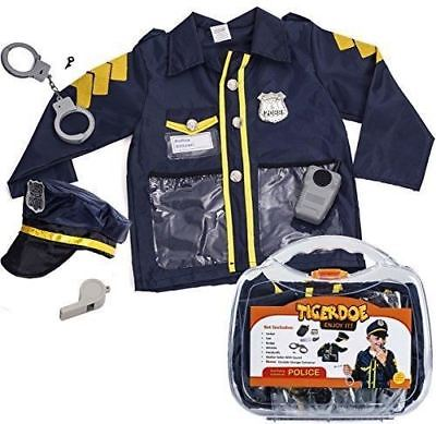 Police Costume for Kids - Policeman Costume With Durable Case - Police Officer C