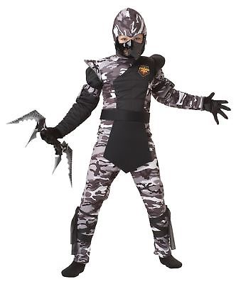 Arctic Ninja Forces Costume Child Halloween Force Japanese Stealth Samurai NEW